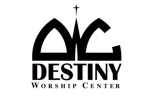 Destinty Worship Center logo | A happy client of Whiteley